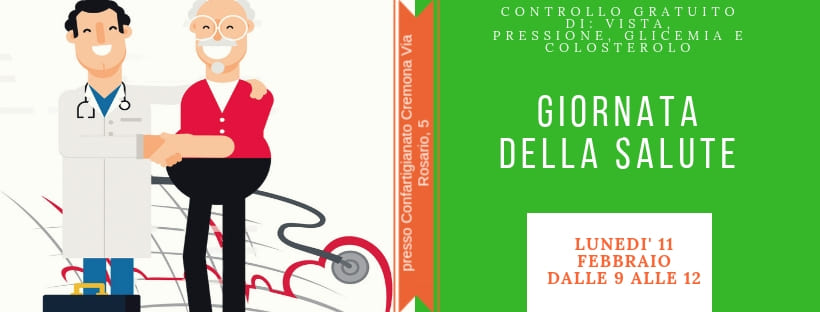 Giornatadella Salute – Controllo gratuito di vista, pressione, glicemia e colesterolo